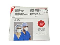 3m 1870 Health Care Particulate Respirator And Surgical Mask N95 Pkg/20 Masks