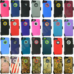 Wholesale Lot For Apple Iphone 6/6s Hard Rugged Armor Case Cover With Belt Clip