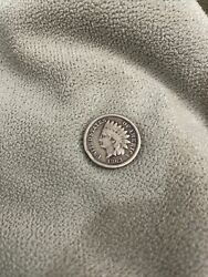 1863 Us United States Indian Head Penny 1 One Cent 1c Better Date Coin Inp6328