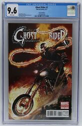 Ghost Rider 2011 1 Neal Adams Variant Cover Cgc 9.6 Blue Label White Pages