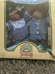 Vintage 1985 Cabbage Patch Kids Twins Doll With Birth Certificate . Name Ethan