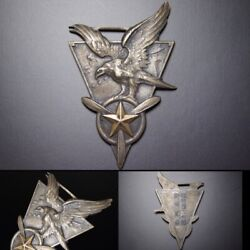 Rare Japanese Arm Flying Victory Memorial Medal Military Antique Japan