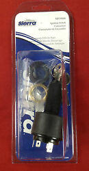 Ignition Switch Sierra Mp39800 4 Position Inboard Accessory-off-on-start Boat