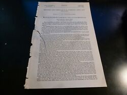 Government Report 1897 Officers And Crews Us Gunboats Kineo And Chocura Civil War