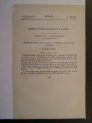 Government Report 1906 Establish Of A Fish Cultural Station In The State Of Wy