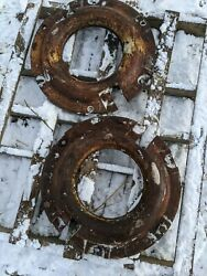 Ford Motor Company Fomoco Tractor Wheel Weight 1 Only