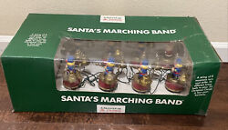 1992 Mr. Christmas Santaandrsquos Marching Band In Original Box Tested - Works Great