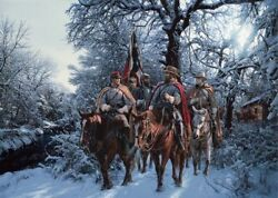 John Paul Strain Onward Christian Soldier Signed And Numbered Limited Edition