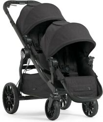 Baby Jogger City Select Black Double Kid Stroller