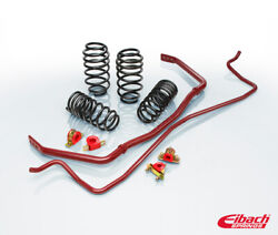 Eibach Pro-plus Kit Pro-kit Springs And Sway Bars For Ford Mustang 2018 To 2018
