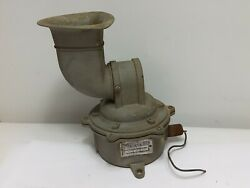 Vintage Federal Sign And Signal Corporation Horn Model 32 120v .45a Used Not...