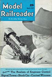 12 Issues 1947 The Model Railroader Magazine Full Year Vintage Antique