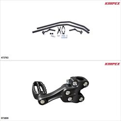 Kimpex - Fender Guards Kit - Black, Yamaha Grizzly 660 2002-08