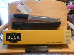 Buck Knives 120 General Fixed Blade Knife With Leather Sheath 120bks New In Box