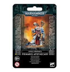 Warhammer 40k Space Marines Primaris Apothecary --new In Box--