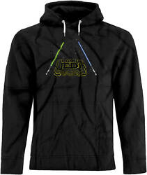 Bsw Menand039s I Am A Jedi Like My Father Before Me Star Saber Hoodie