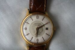 1959 Orator Swiss 25 Rubis Automatic Mechanical Watch Antimagnetic24k Goldplated