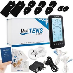 Medtens Tens Unit Machine Device 24 Modes Rechargeable Pulse Muscle Massager