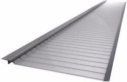 Gutter Guard 3 Ft. Stainless Steel 5 In. Micro-mesh Gutter Guard 10-pack