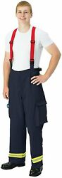 Extracation Pants, 9oz Indura Bunker Pant Size 32x32, Topps Safety