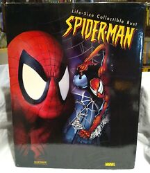 Sideshow 2914 Spider-man Life-size Bust Mint W/box Limited 197/250