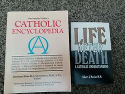 Our Sunday Visitor's Catholic Encyclopedia And Life After Death Book Lot