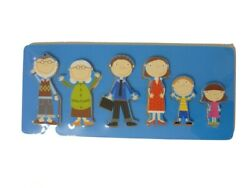 TrÄ Present Children Puzzle Family Children's Jigsaw Wooden Doll From 2 Years