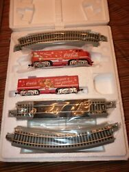 Coca Cola Ho Hawthorne Village Bachman F7 Diesel Locomotive And Dummy A And B Track