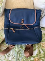 Calvin Klein Nylon Backpack Navy Blue $30.00