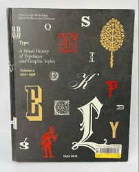 Type. A Visual History Of Typefaces And Graphic Styles 1901-1938 Varia V. 2andhellip