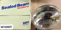 Vintage Wagner Tung-sol Sealed High Beam Headlights Part No. 5001
