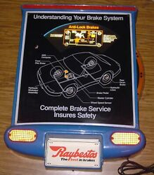Very Cool Raybestos Understanding Your Brake System Interactive Lighted Sign 28