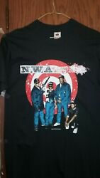 1990 Nos New Nwa N.w.a. Donand039t Bite It Casino Vintage Shirt T-shirt Authentic Lg