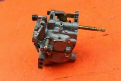 1962 Johnson 5.5 H.p. Cd-19s Outboard Carburetor Needs Cleaning