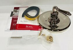Rohl Country Bath Thermostatic Shower Valve Trim Only In Polished Nickel