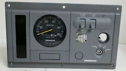 129670-91130 Genuine Oem Yanmar B-style Ignition Panel Assembly P=116 5k Tach