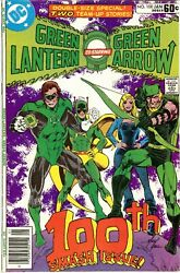 Green Lantern Vol 2 No.100 1st App. Of Air Wave Ii.1st And Only App. Of Master-tek