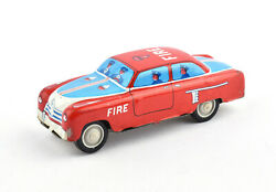 Amb Marchesini Italy Tinplate Friction Drive Ford Fordor Fire Dept. No.451