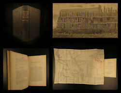 1842 Parker Journal Native American Indians Oregon Map Geography Rocky Mt Voyage