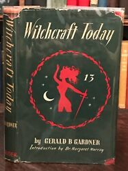 Witchcraft Today - Gerald B. Gardner, First Ed, 1954 - Witchcraft Wicca Magick