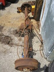 1967 Chevy 12 Bolt Rear End With Axle Assembly