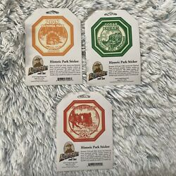 Ranger Of The Lost Art National Historic Parks Collectible Stickers