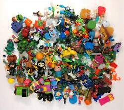 Lot Of Vintage Toys Art Craft Collage Projects Dolls Clowns Bears Trucks Cars