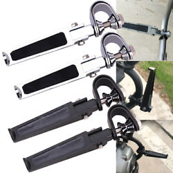 Motorcycle 11-1/4 Highway Engine Guard Bar Crash Foot Pegs For Harley Touring