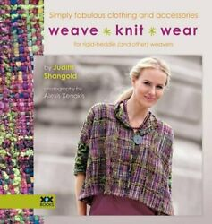 Weaveknitwear Simply Fabulous Clothing And Accessories For Rigid Heddle A…