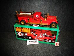 Texaco 1929 Mack Fire Truck Special Gold Edition 1998 Ertl Diecast 15 In Series