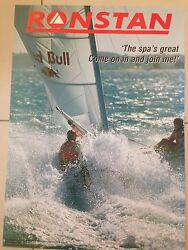 Sailing Poster- Huge 700mm X 500mm Sail Boat Gear Winches Ronstan Hardware