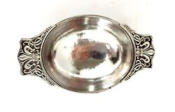 Omar Ramsden Sterling Silver Quaich Bowl Arts And Crafts Hand Hammered London 1927
