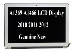 New For Macbook Air 13 A1466 A1369 Genuine Lcd Screen Assembly 2010 2011 2012