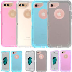 Wholesale Lot For Iphone 8+ Plus Transparent Hard Heavy Duty Clear Case Cover